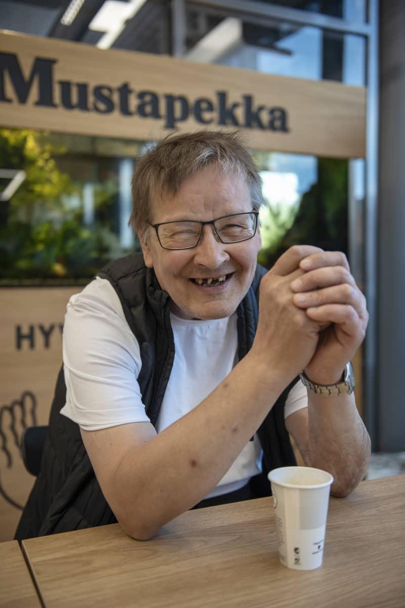 Pekka Honkonen K-market Mustapekalla 15.07.2020.