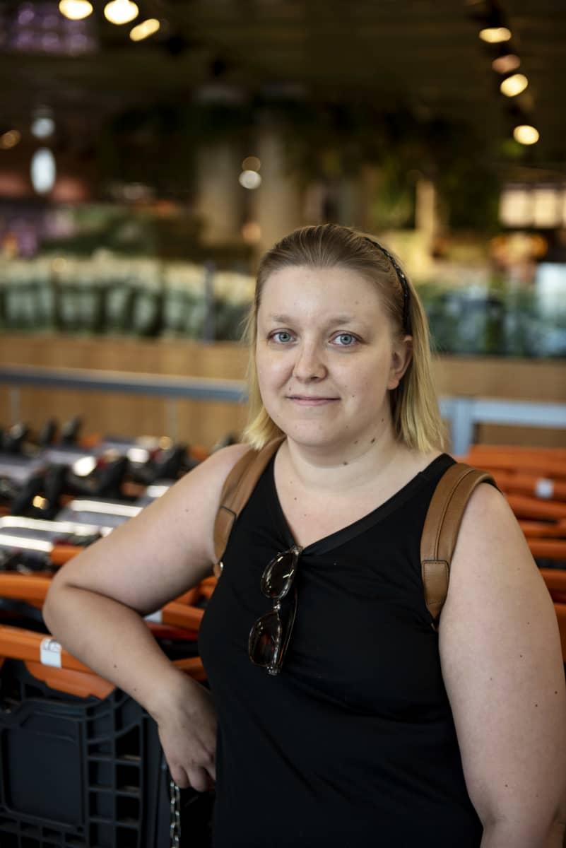 Kaisa Valkama K-market Mustapekalla 15.07.2020.