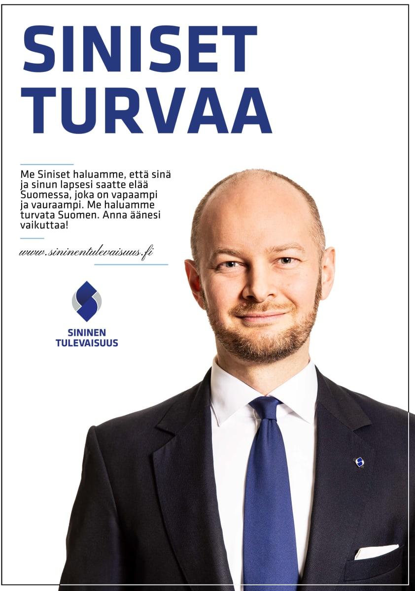 Sininen tulevaisuus vaalijuliste