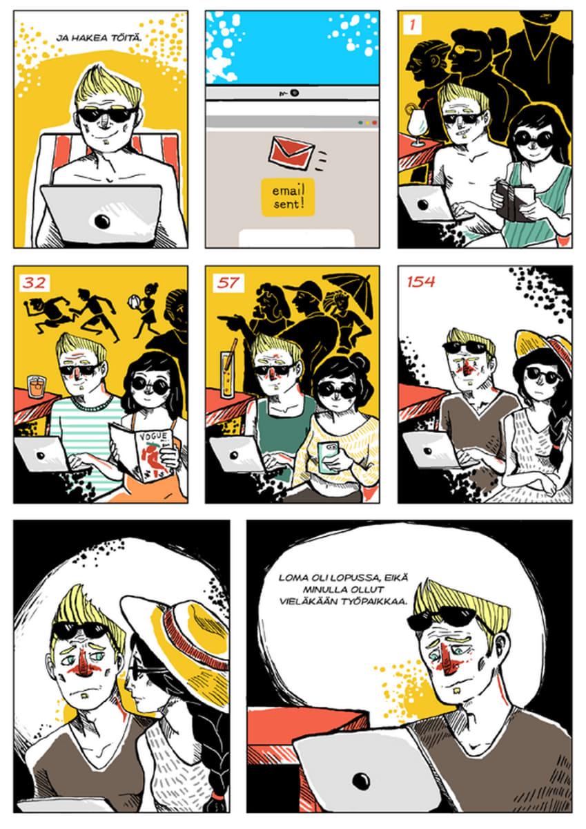 Silminnäkijä - Mikon tarina, sivu 5