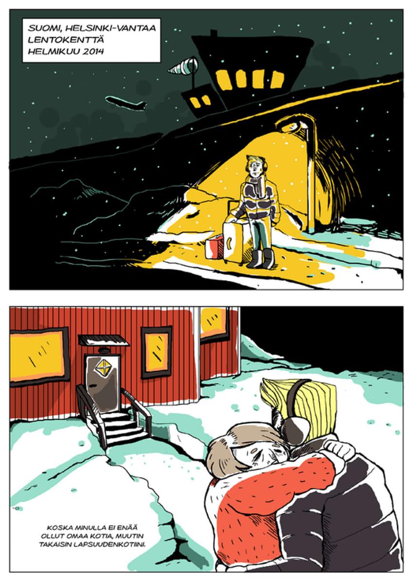 Silminnäkijä - Mikon tarina, sivu 6