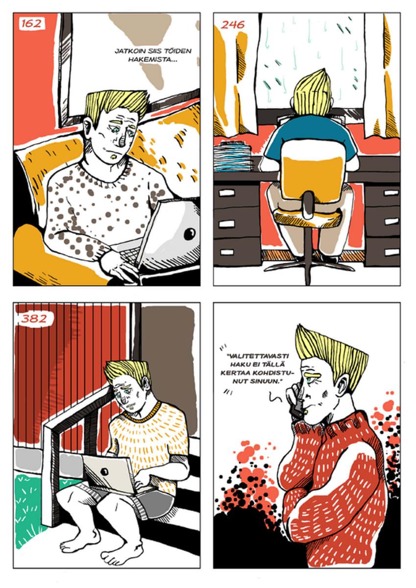 Silminnäkijä - Mikon tarina, sivu 8