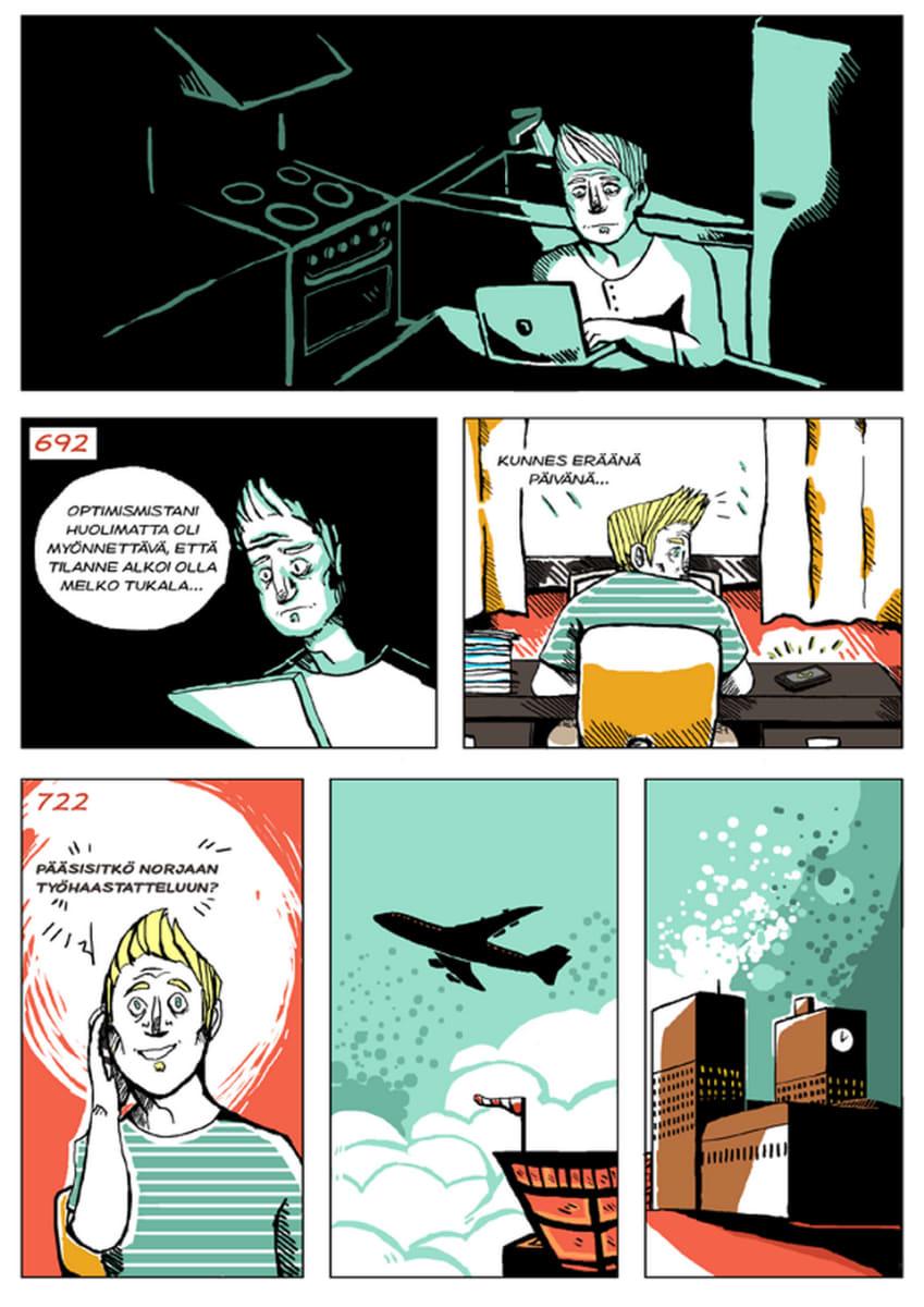 Silminnäkijä - Mikon tarina, sivu 9