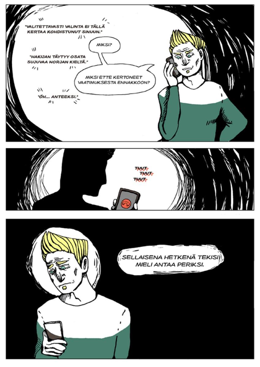 Silminnäkijä - Mikon tarina, sivu 11