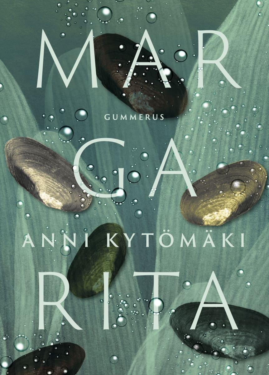 """Pärmen till Anni Kytömäkis roman """"Margarita""""."""