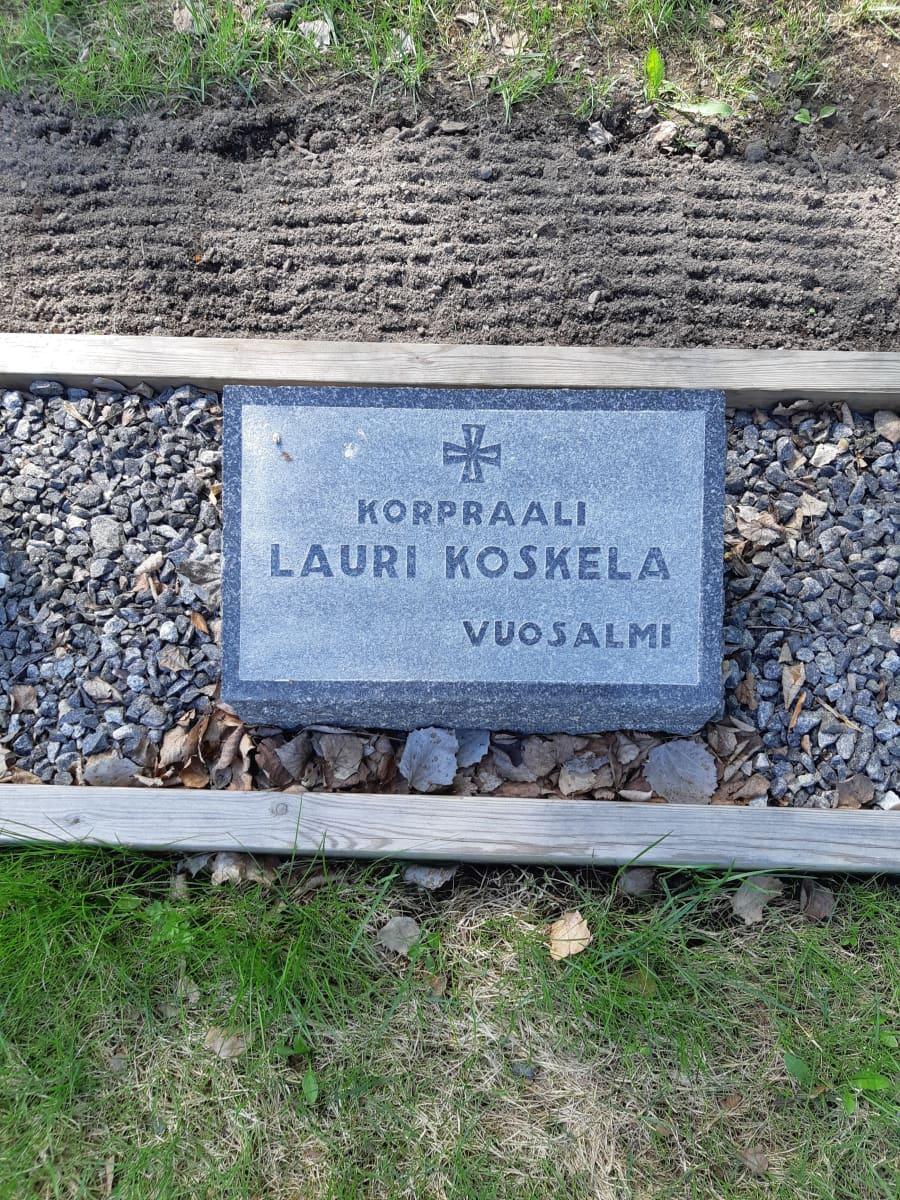 Lauri Koskelan hauta