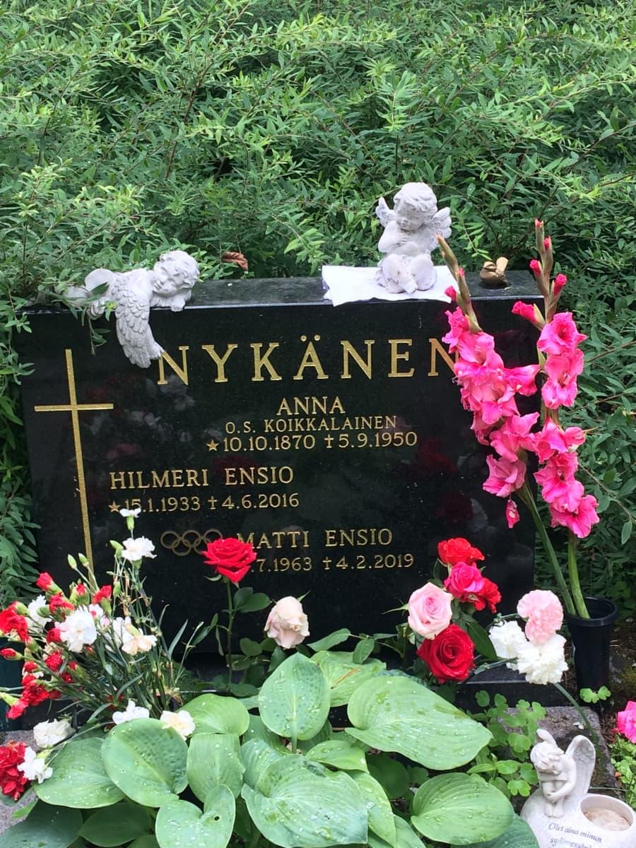 Matti Nykäsen hauta