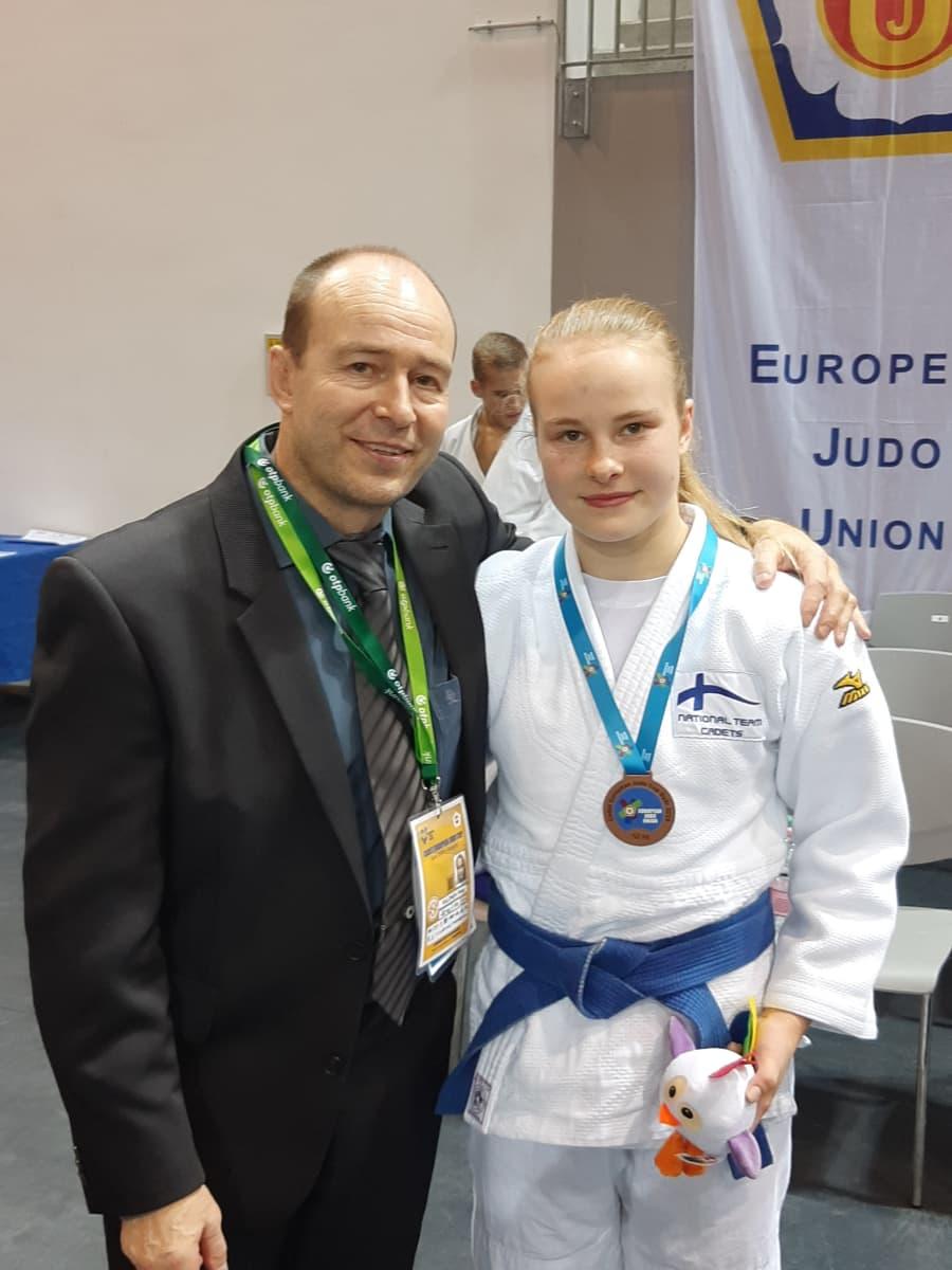 Sami ja Pihla Salonen, Unkarin Euroopan cupissa 2019