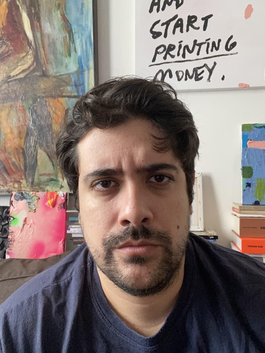 Alvaro Seixas, taideprofessori, taiteilija, Rio de Janeiro, Brasilia