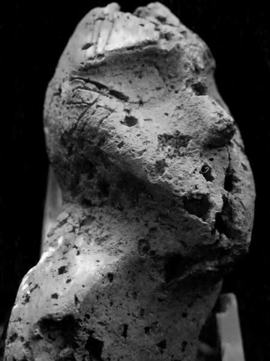 Savi-idoli eli kivikautinen savipatsas nimeltä Tuima