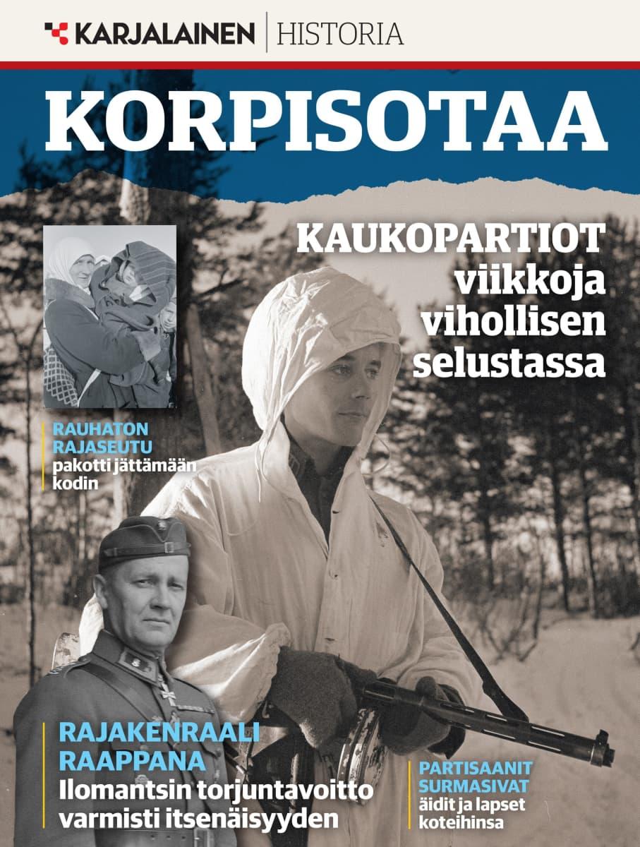Karjalaisen julkaisema ensimmäinen Korpisotaa-niminen teemalehti ilmestyy maaliskuussa.