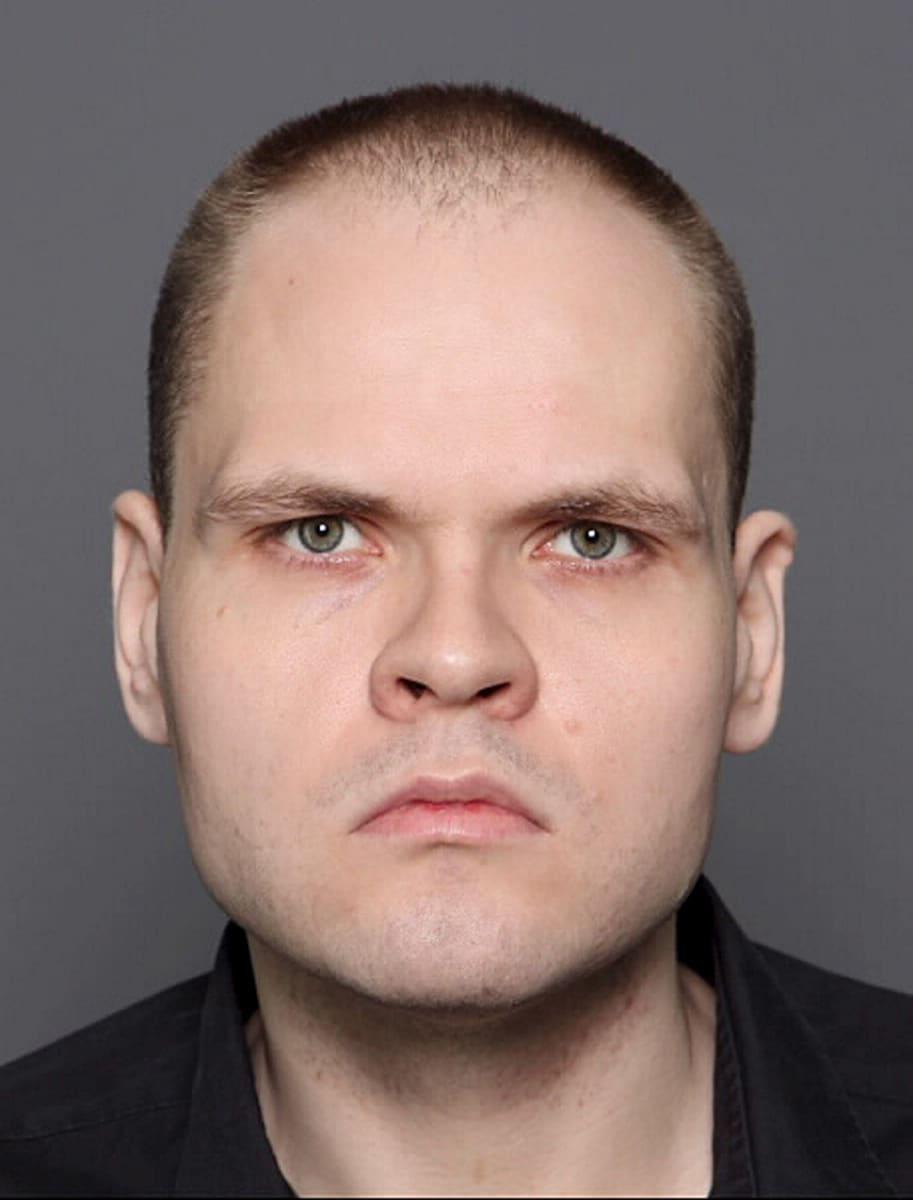 Keskusrikospoliisin julkaisema kuva Markus Pönkästä