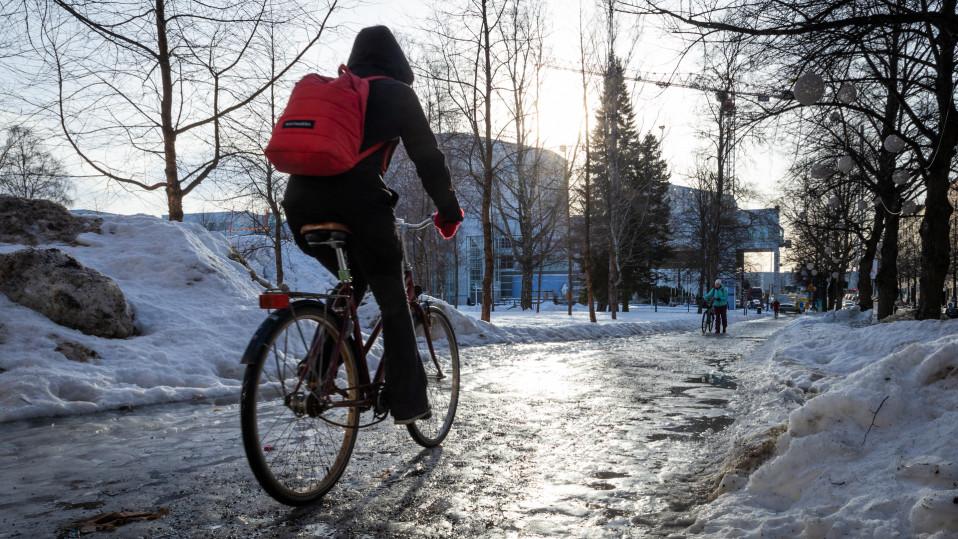 Liukasta Tampereella