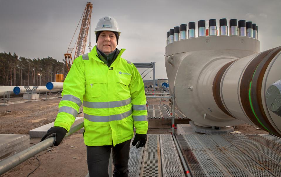 Nord Stream 2-yhtiön viestintäpäällikkö Steffen Ebert .