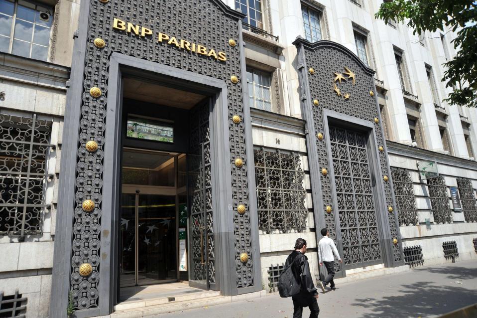 BNP:n pääkonttori Pariisissa rue des Italiensillä.