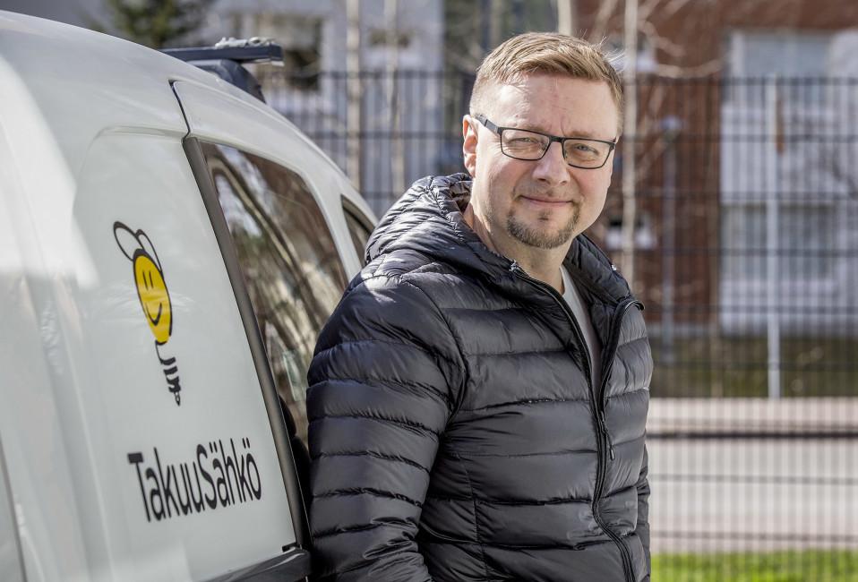 Takuusähkön toimitusjohtaja Tommi Valtonen