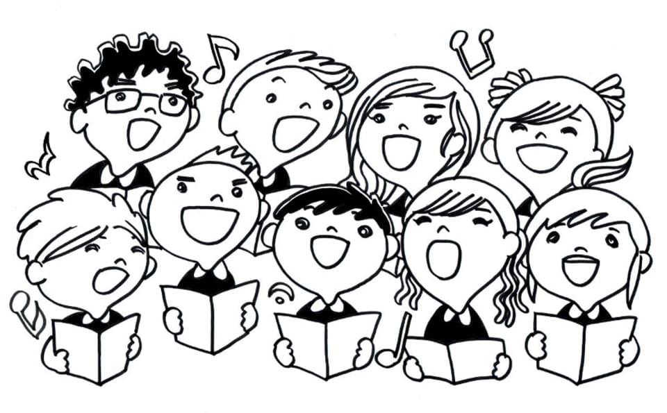 Bildresultat för sjunga i kör