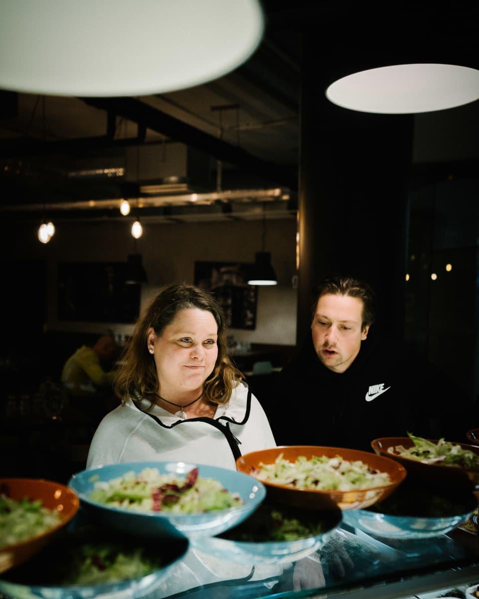 Tiia Helomaa ja Antti Korhonen, Espoo, 10.10.2019