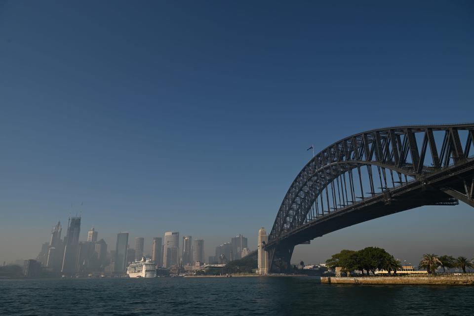 Australian maastopalot tekevät Sydneyn ilmasta vaarallisen hengittää.