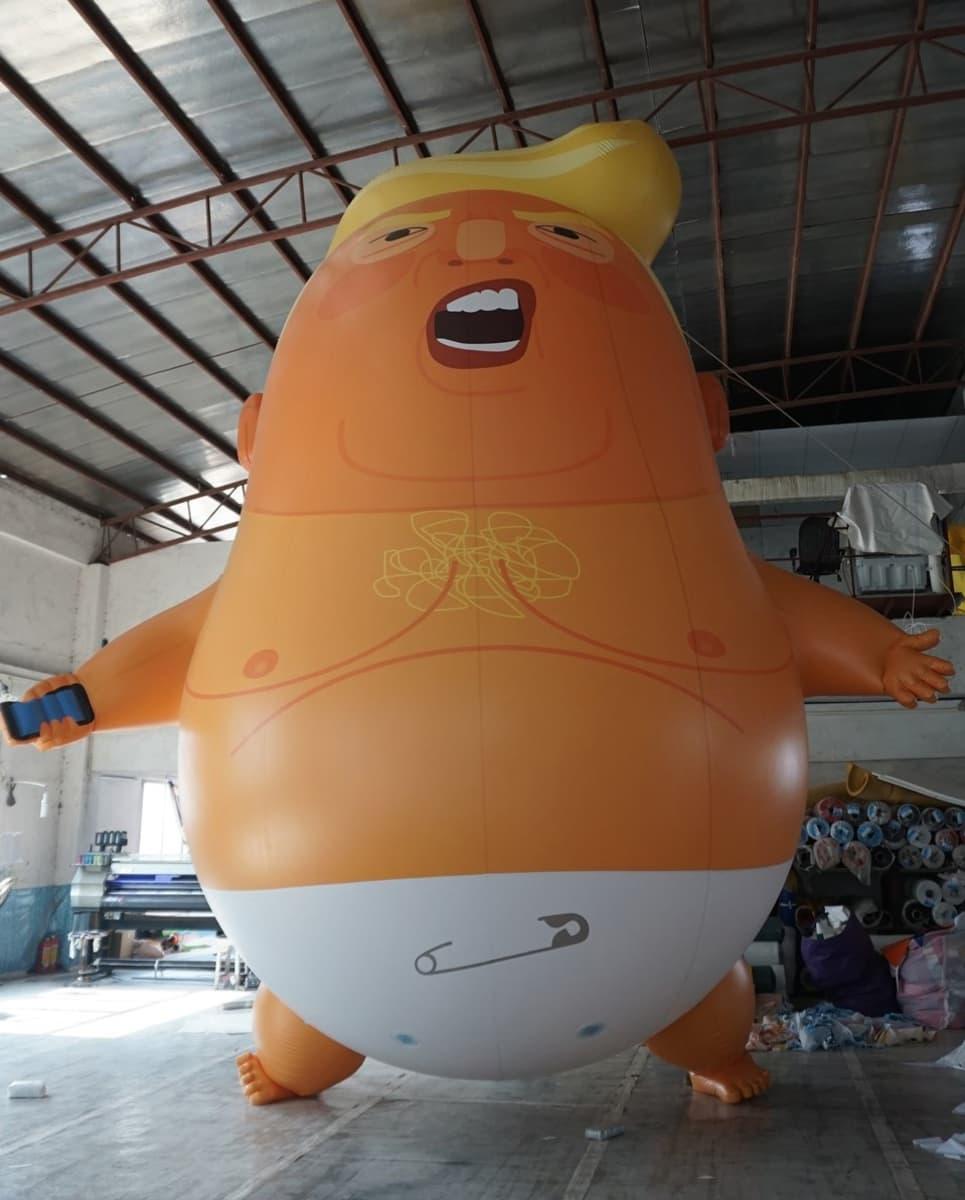 Trump baby -ilmapallo.