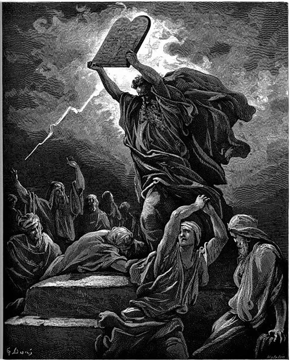 Moose, Gustave Doré, Raamattu