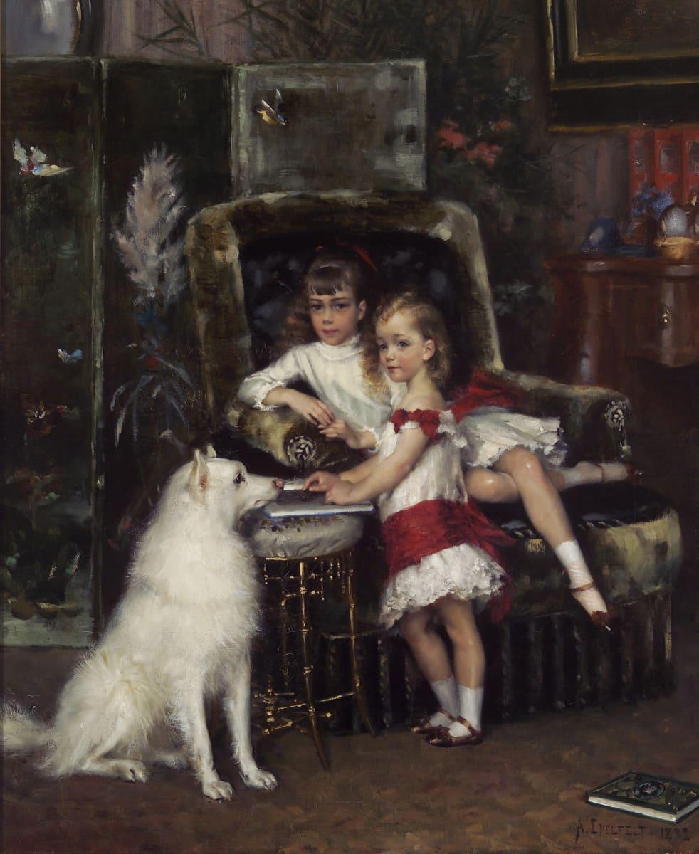 Keisari Aleksanteri III:n lapset, Mihail ja Ksenia, 1882